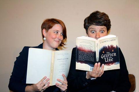 Pressefoto Carmen Capiti und Myriam Planzer